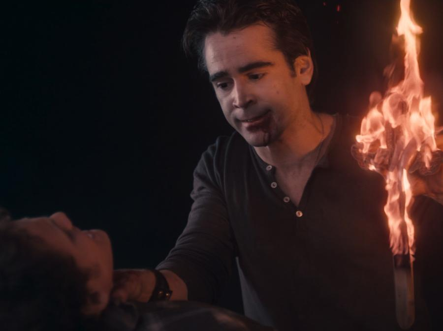 "Colin Farrell jako ""Postrach nocy"""