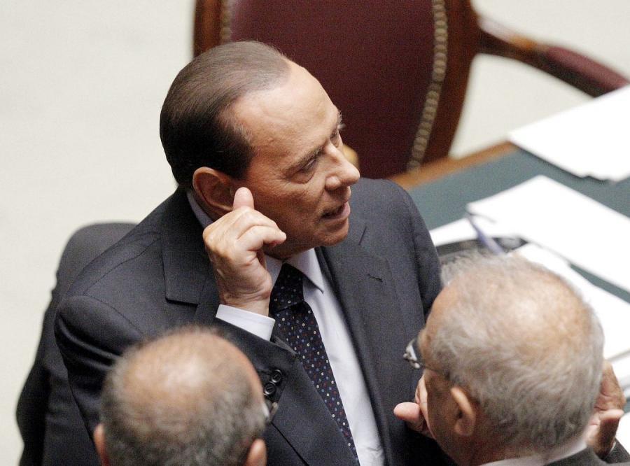 Silvio Berlusconi w parlamencie