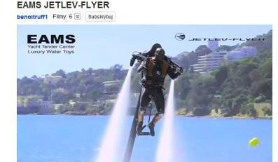 Jetpack Jetlev-Flyer