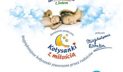 """Okładka płyty """"Kołysanki z miłością""""."""