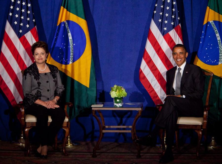 Dilma Rousseff i Barack Obama