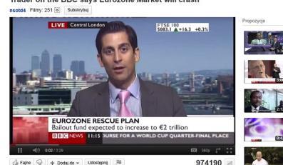 Alessio Rastani: Światem nie rządzą rządy, tylko Goldman Sachs