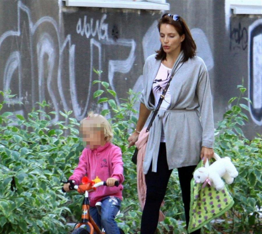 Anna Dereszowska z córką