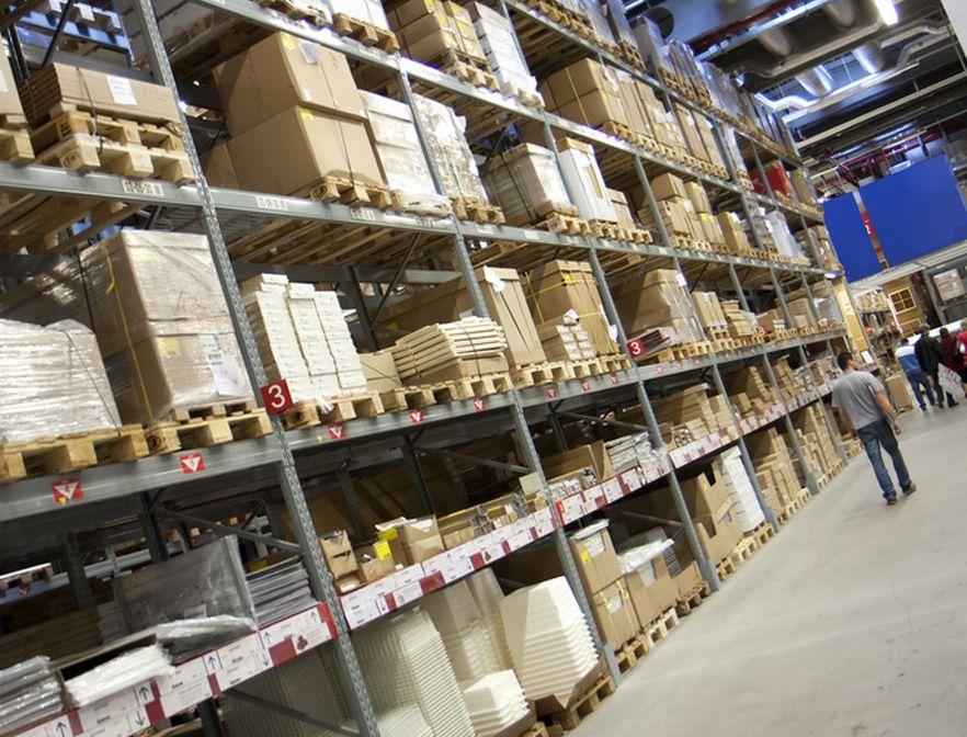 Wnętrze IKEI, zdjęcie ilustracyjne