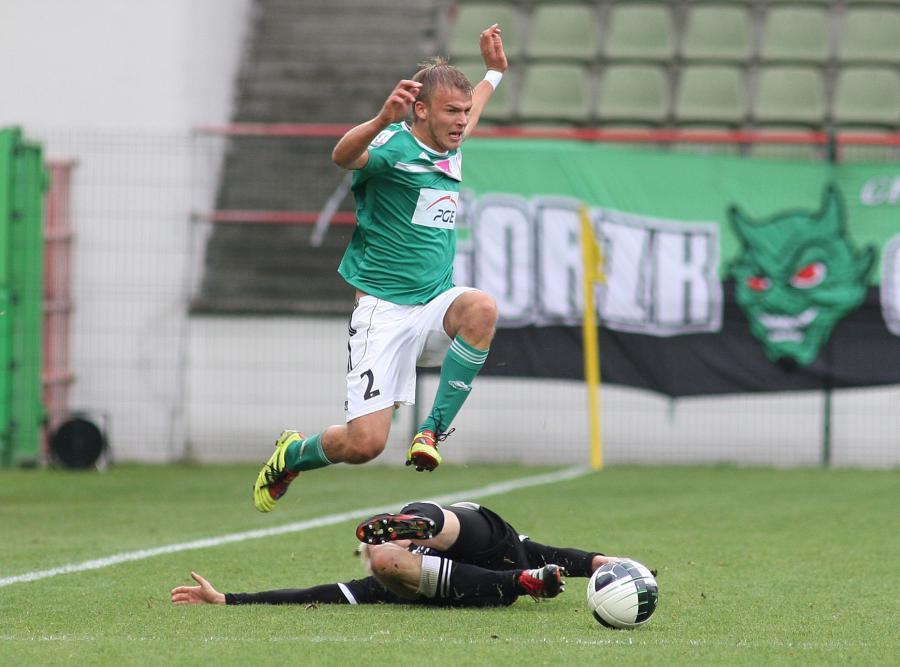Piłkarze Śląska nie potrafili zatrzymać graczy GKS Bełchatów