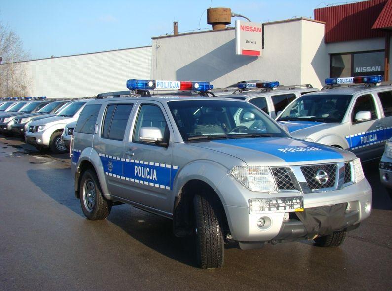 Terenowy nissan - nowa broń polskiej policji