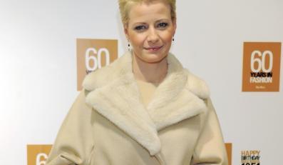 """Kreacja, w której pojawiła się ostatnio Małgorzata Kożuchowska, może stać się przysłowiową """"kością niezgody""""..."""