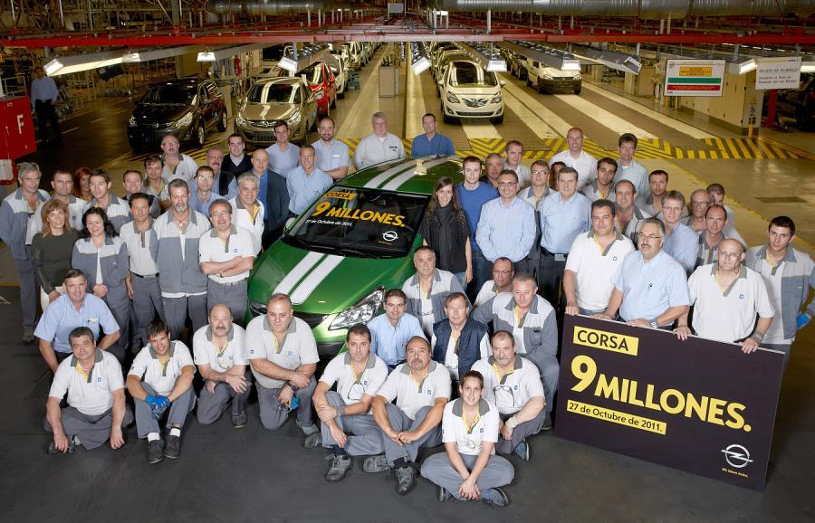 Opel wyprodukował 9 mln sztuk corsy