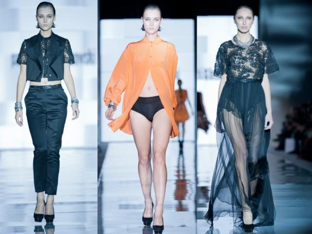 PAPROCKI&BRZOZOWSKI - pokaz kolekcji wiosna/lato 2012 na Fashion Week Poland Łódź.