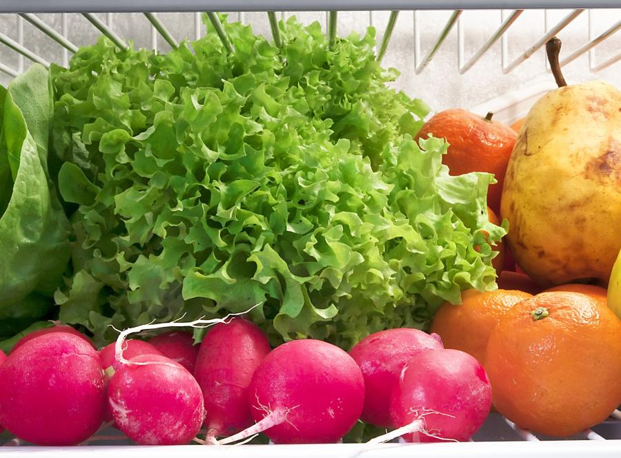 żywność lodówka warzywa owoce
