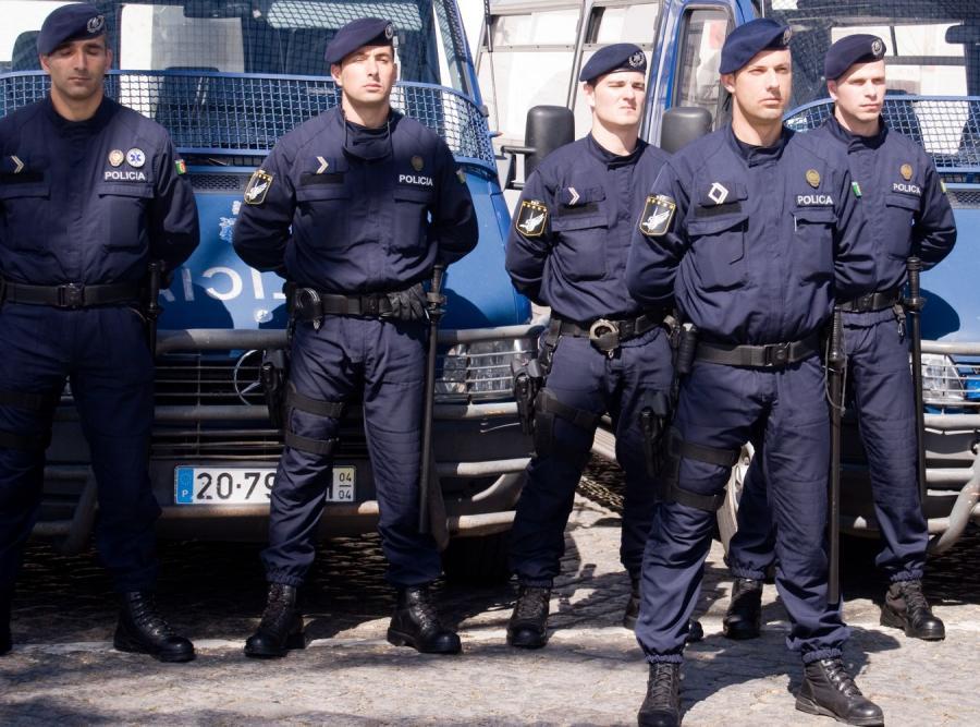 Portugalscy policjanci