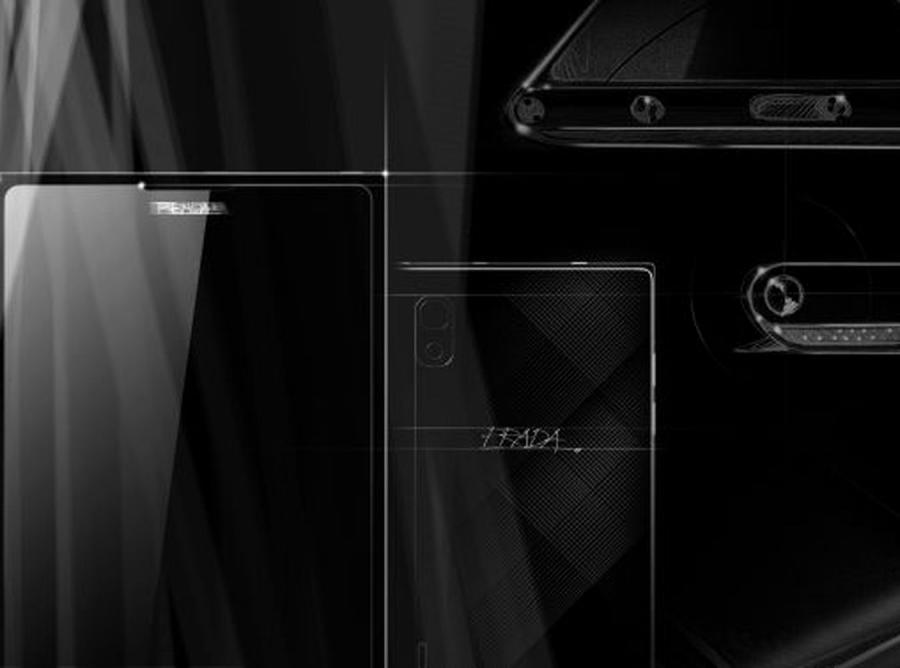 Luksusowy telefon LG i włoskiego domu mody