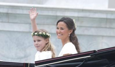 Pippa na ślubie siostry