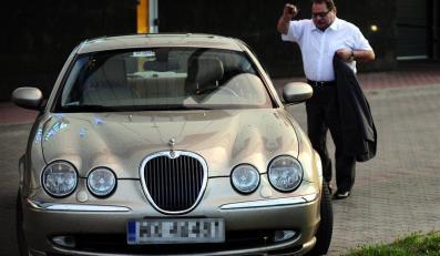 Ryszard Kalisz sprzedaje swojego jaguara