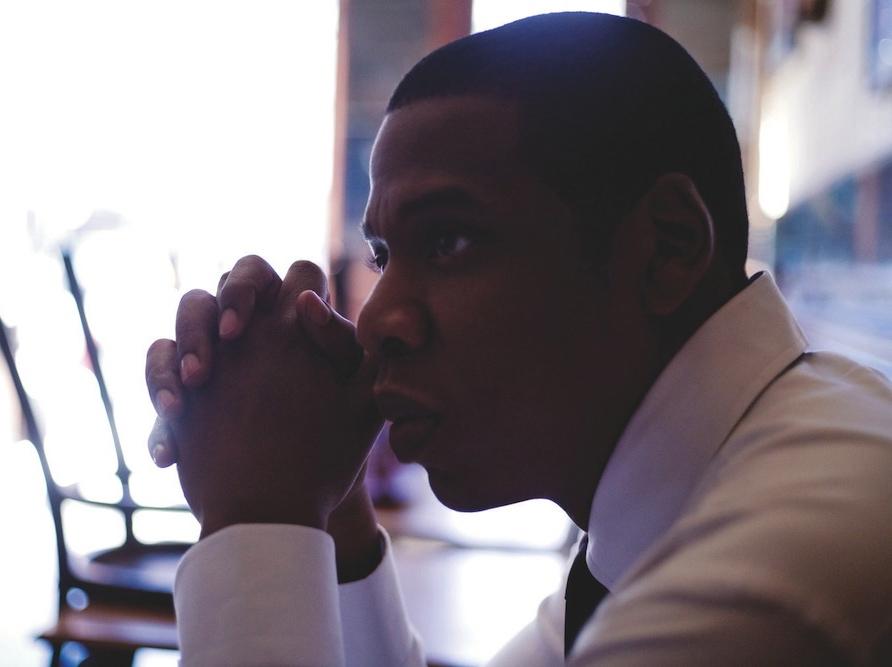 Jay-Z ojcem, który przeklina