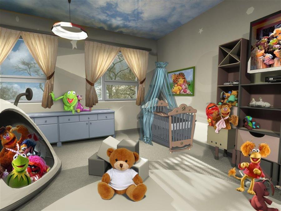 Tak wygląda pokój córeczki Anny Muchy.