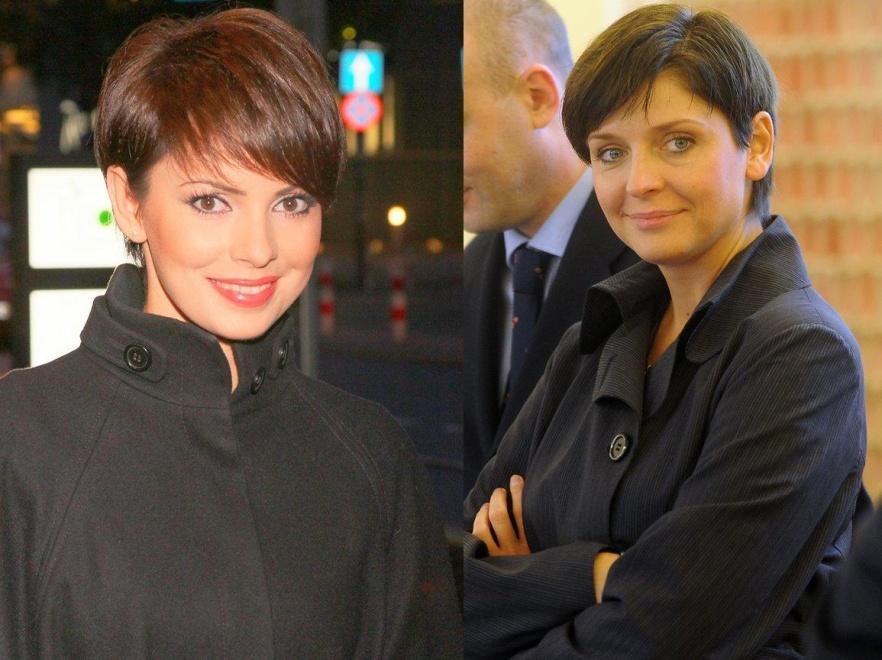 Czy obcinając włosy, Joanna Mucha inspirowała się fryzurą Doroty Gardias?