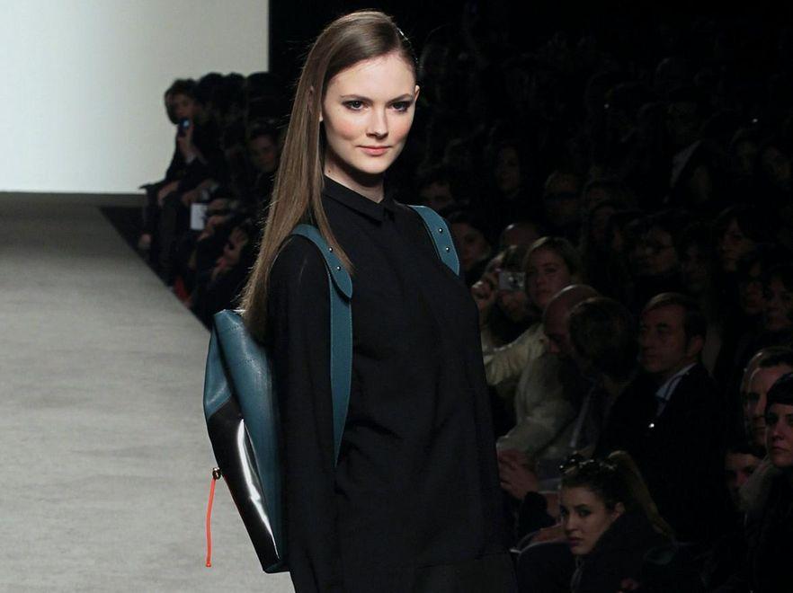 Szkolny plecak na wybiegu - pokaz kolekcji Co/Te w ramach AltaRoma AltaModa Fashion Week