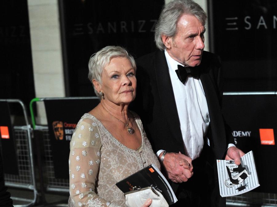 Judi Dench z mężem na gali BAFTA