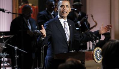 Barack Obama śpiewa bluesa jak prawdziwy bluesman
