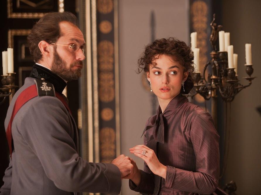 Keira Knightley i Jude Law w filmie \