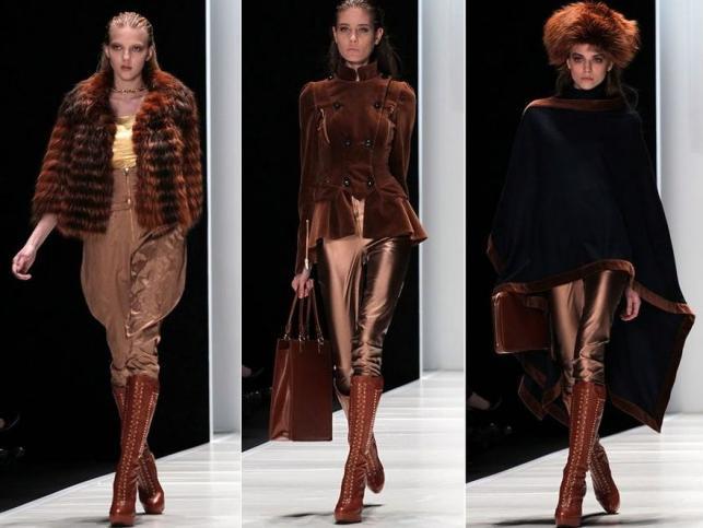 Eva Minge i Esotiq na sezon jesień-zima 2012/2013 na Fashion Week Russia w Moskwie