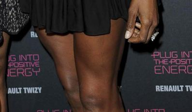 Boskie nogi Naomi Campbell