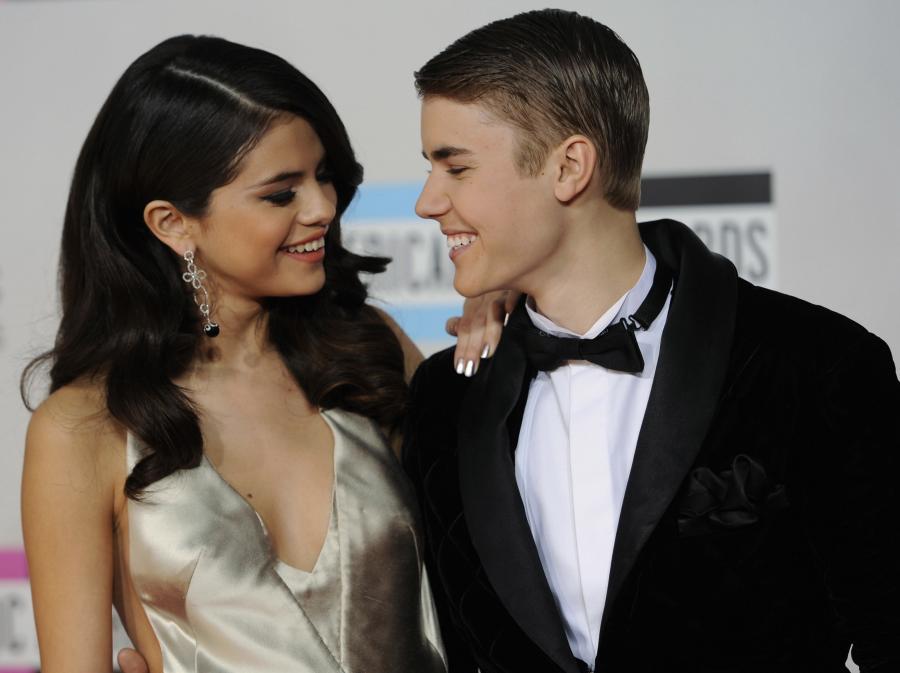 Zakochani: Selena Gomez i Justin Bieber