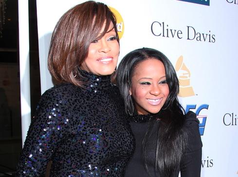 Bobbi Kristina Brown i Whitney Houston;