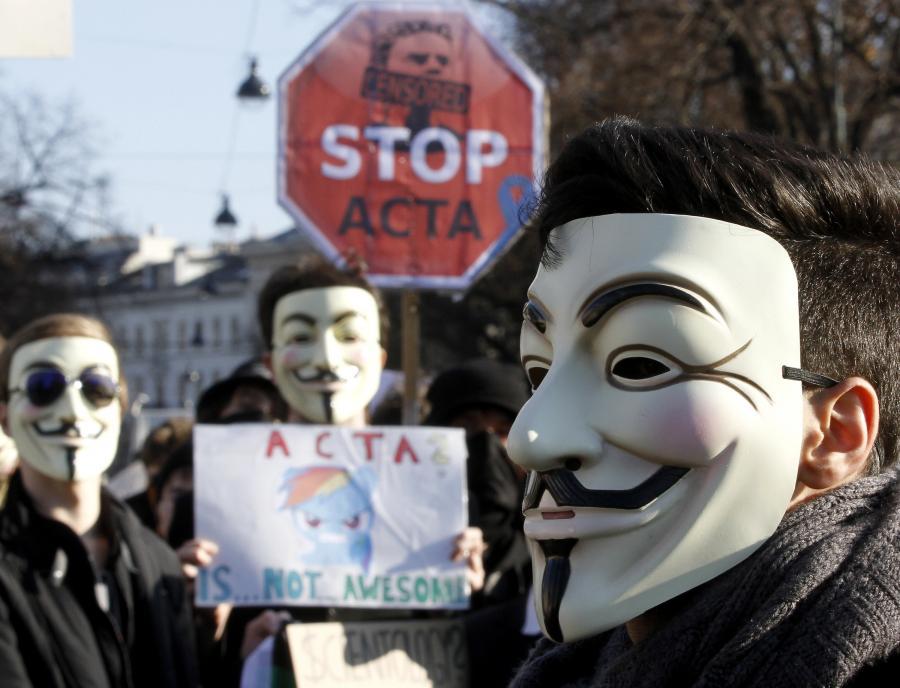 Demonstracja w Niemczech przeciw umowie ACTA