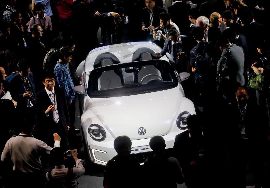 Stoisko Volkswagena w Pekinie