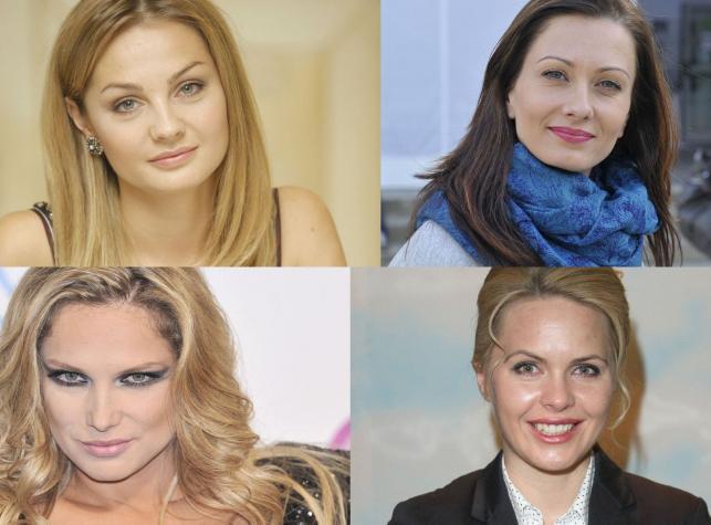 Magdalena Stużyńska, Anita Sokołowska, Joanna Liszowska i Małgorzata Socha