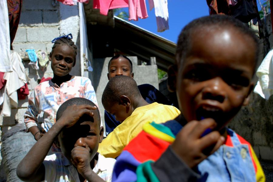 Sieroty na Haiti
