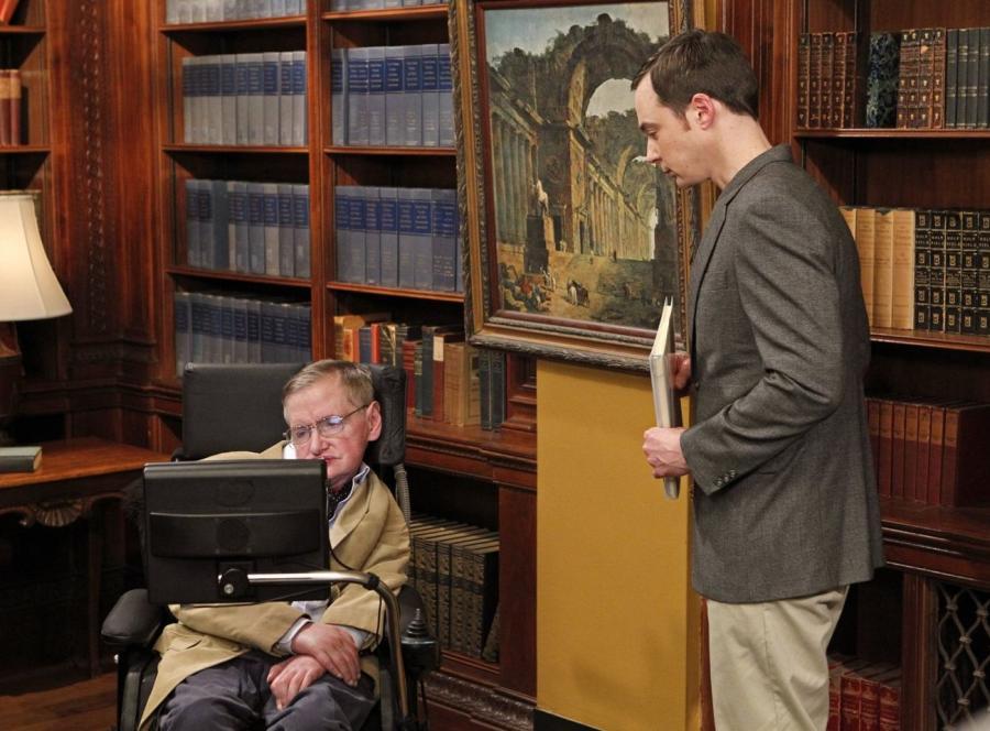 Stephen Hawking w \