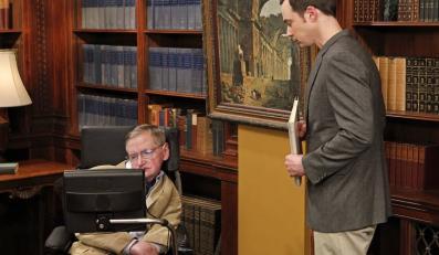 """Stephen Hawking w """"Teorii wielkiego podrywu"""""""