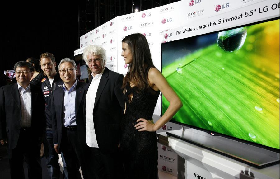 LG prezentuje telewizor OLED