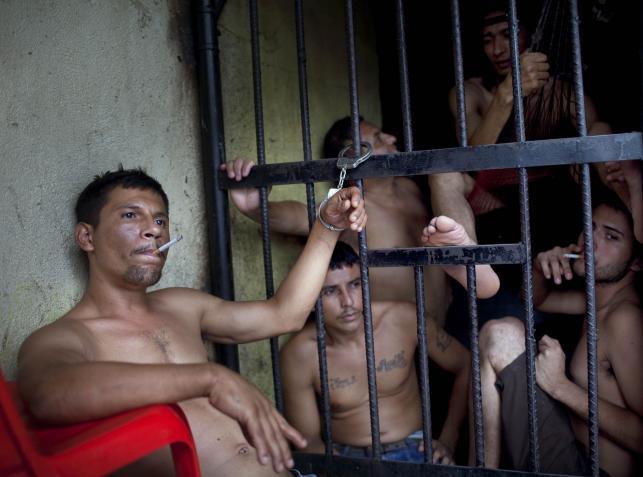 Ponure więzienie w San Pedro Sula