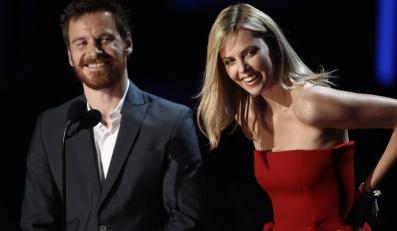 Michael Fassbender i Charlize Theron na gali MTV Movie Awards