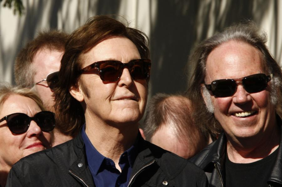 Paul McCartney i Neil Diamond