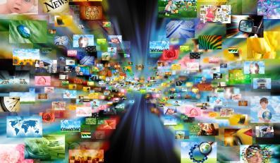 Internet - wyobrażenie sieci