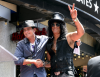 Slash i jego dobry kumpel Charlie Sheen