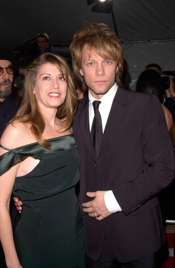 Długodystansowcy w Hollywood - Jon Bon Jovi z żoną Dorothea Hurley