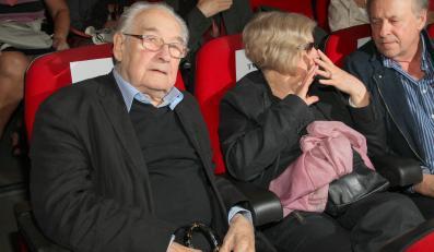 """Andrzej Wajda na premierze """"Bez wstydu"""""""