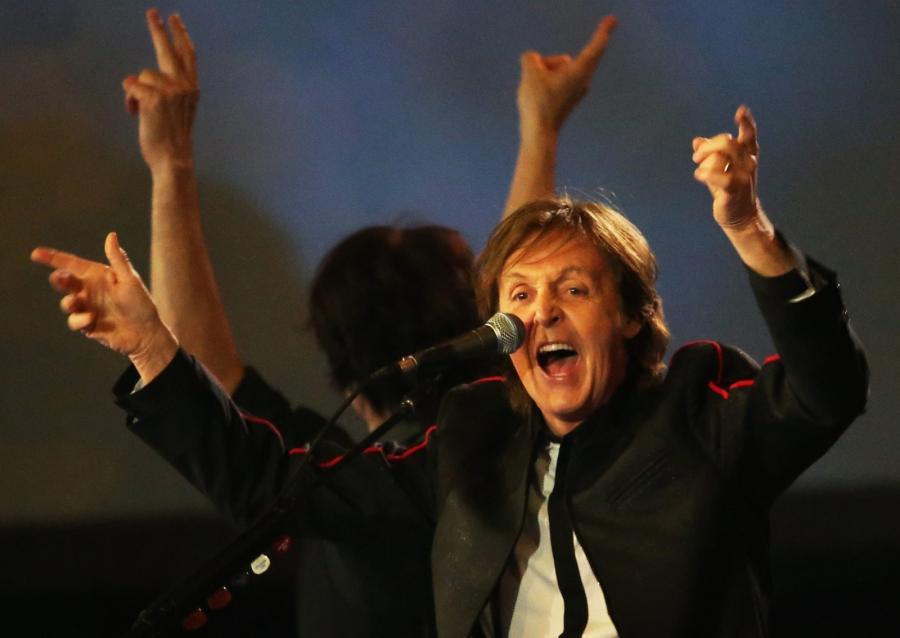 Olimpijski show McCartneya za... 5 złotych