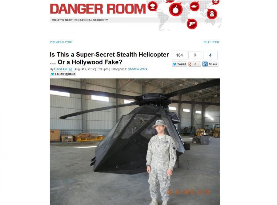Supertajny śmigłowiec USA