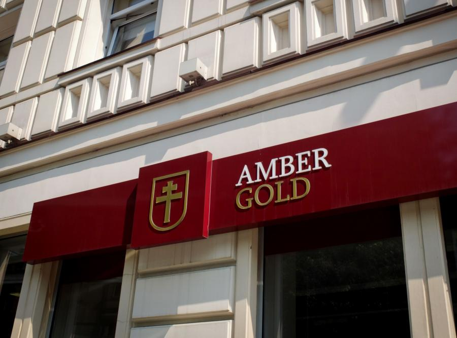 Placówka firmy Amber Gold