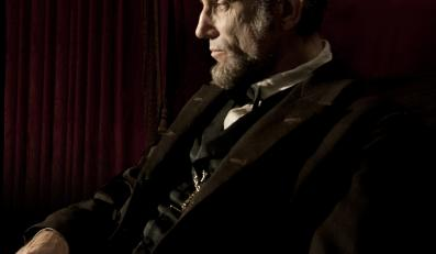 "Daniel Day-Lewis jako ""Lincoln"""
