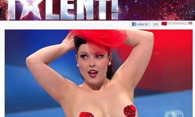 Burleskowa piękność zachwyciła striptizem. Ma talent?