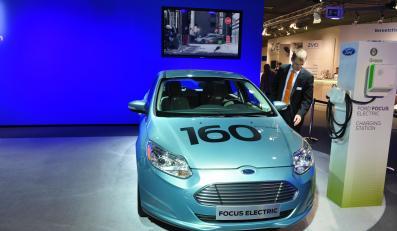 Elektryczny ford focus