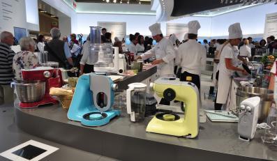 Kolorowe roboty kuchenne Siemens